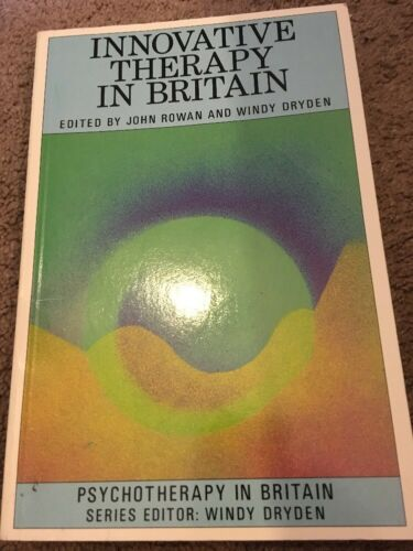 1 of 1 - Innovative Therapy in Britain (Psychotherapy in Britain Series) Paperback Book.