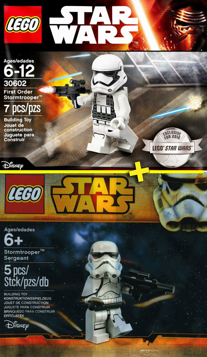 LEGO STAR WARS Stromtrooper + Sergeant - NEW   NEUF - Sealed