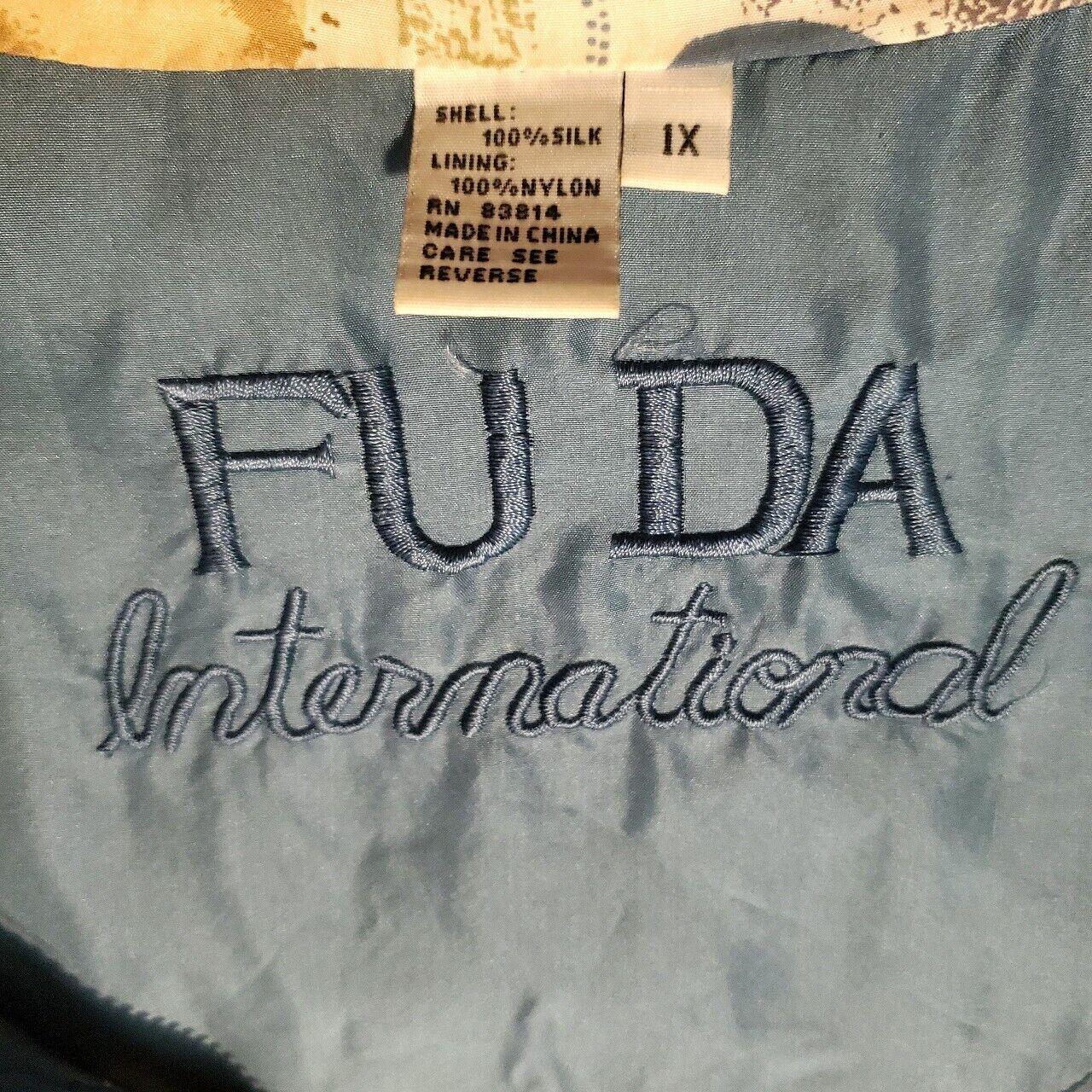 FUDA International Vintage 90s Women's Silk Bombe… - image 2