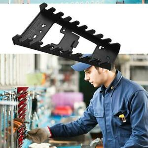2Pcs Spanner Rack Wrench Holder Storage Rack Rail Tray Sockets Spanner Organizer