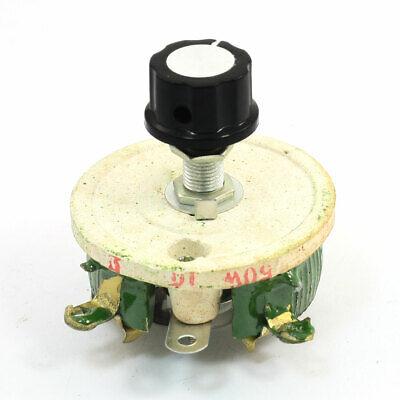 Ceramic Tray Rotary Adjustable Resistor Rheostat 200 Ohm 150W