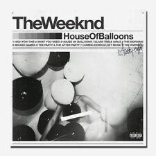 G839 The Weeknd TRILOGY pop singer Album over Rap Tour Music Poster Art Decor