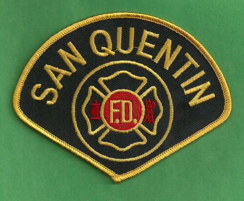 SAN QUENTIN PRISON CALIFORNIA FIRE DEPARTMENT PATCH