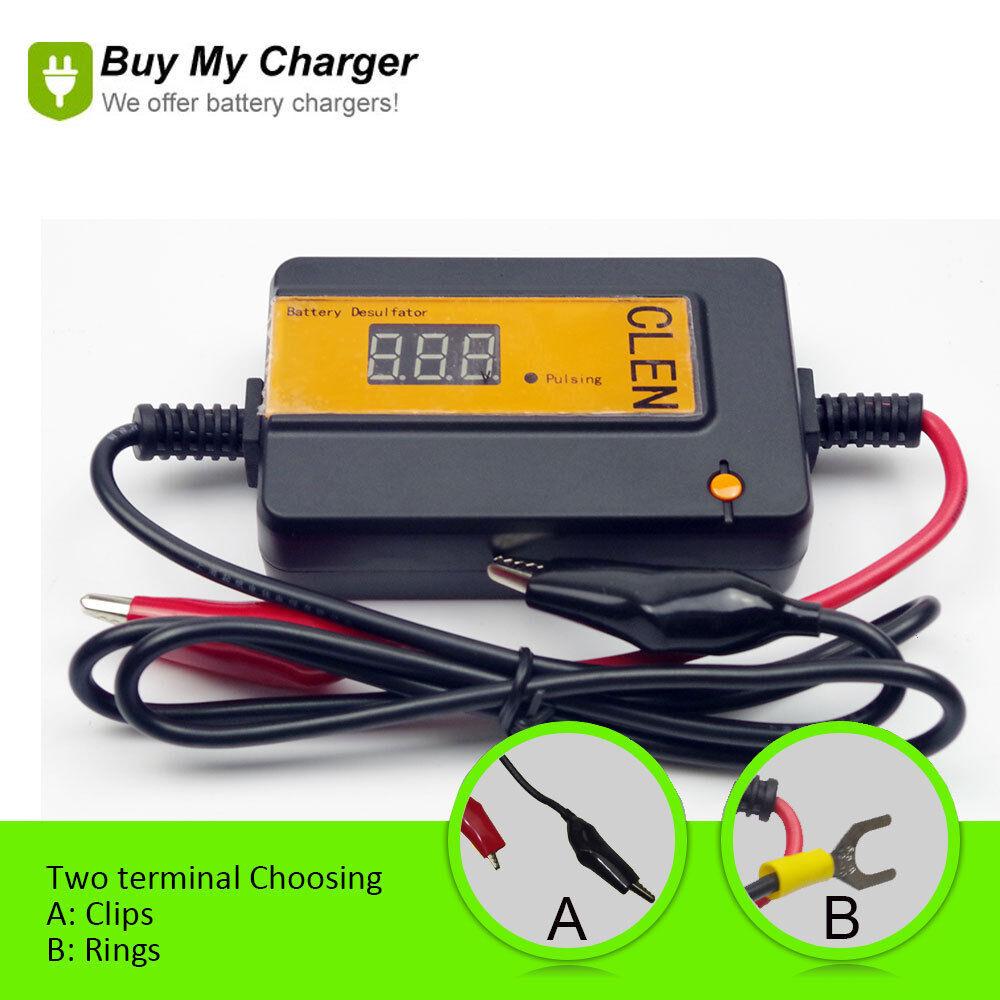 pulse battery desulfator for lead batteries 12v 48v car. Black Bedroom Furniture Sets. Home Design Ideas
