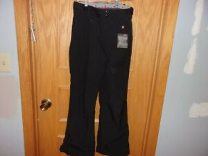 Women-039-s-snow-pant-039-s-Gerry-Size-XS-Black-Solid-Polyester