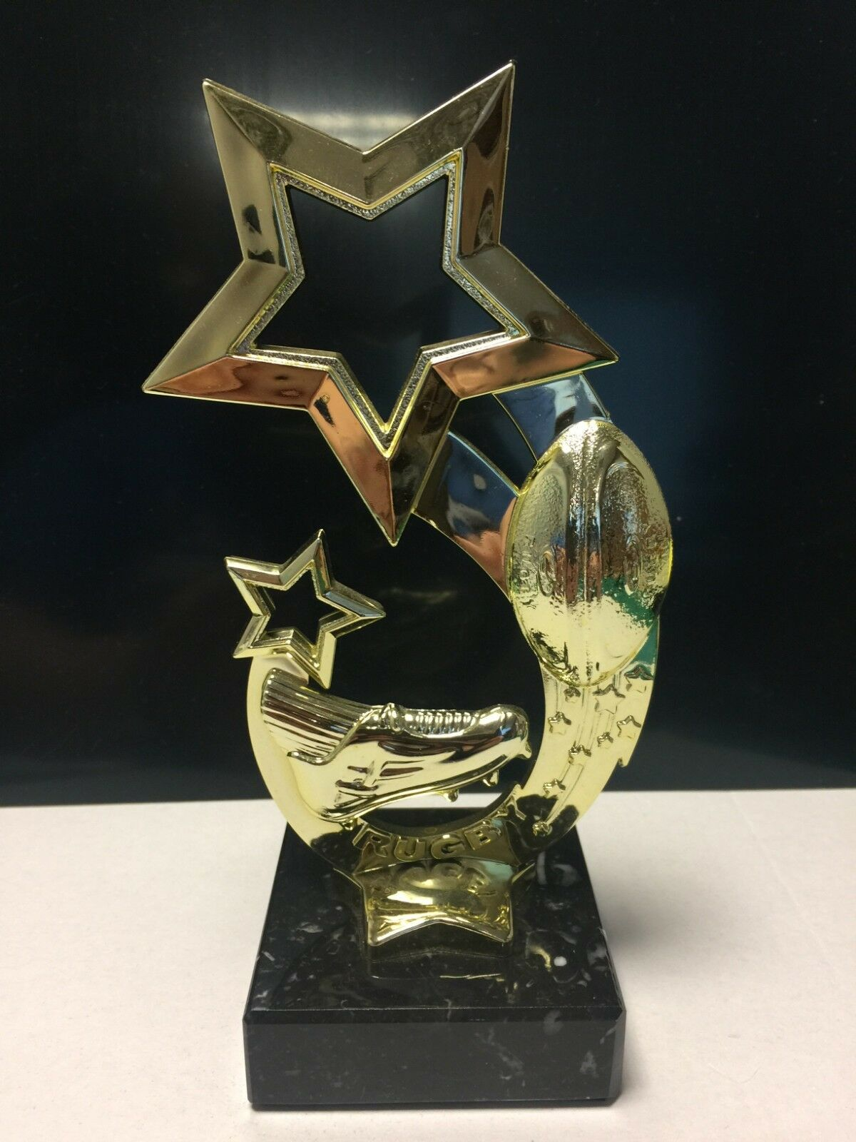 50 x Rugby Trophy Rising Star 170mm Free Engraving