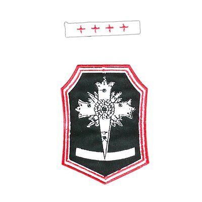 D.Gray-Man Cosplay Costume Accessory Allen Walker Exorcist Iron Badge V3