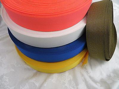 5 or 10 Yards,1.5'' inch (38mm) Nylon webbing -Mid weight
