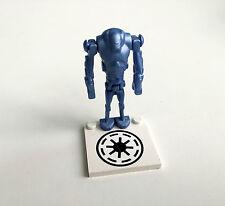 Lego Star Wars Super Battle Droid, azul/metal Blue, set 7163