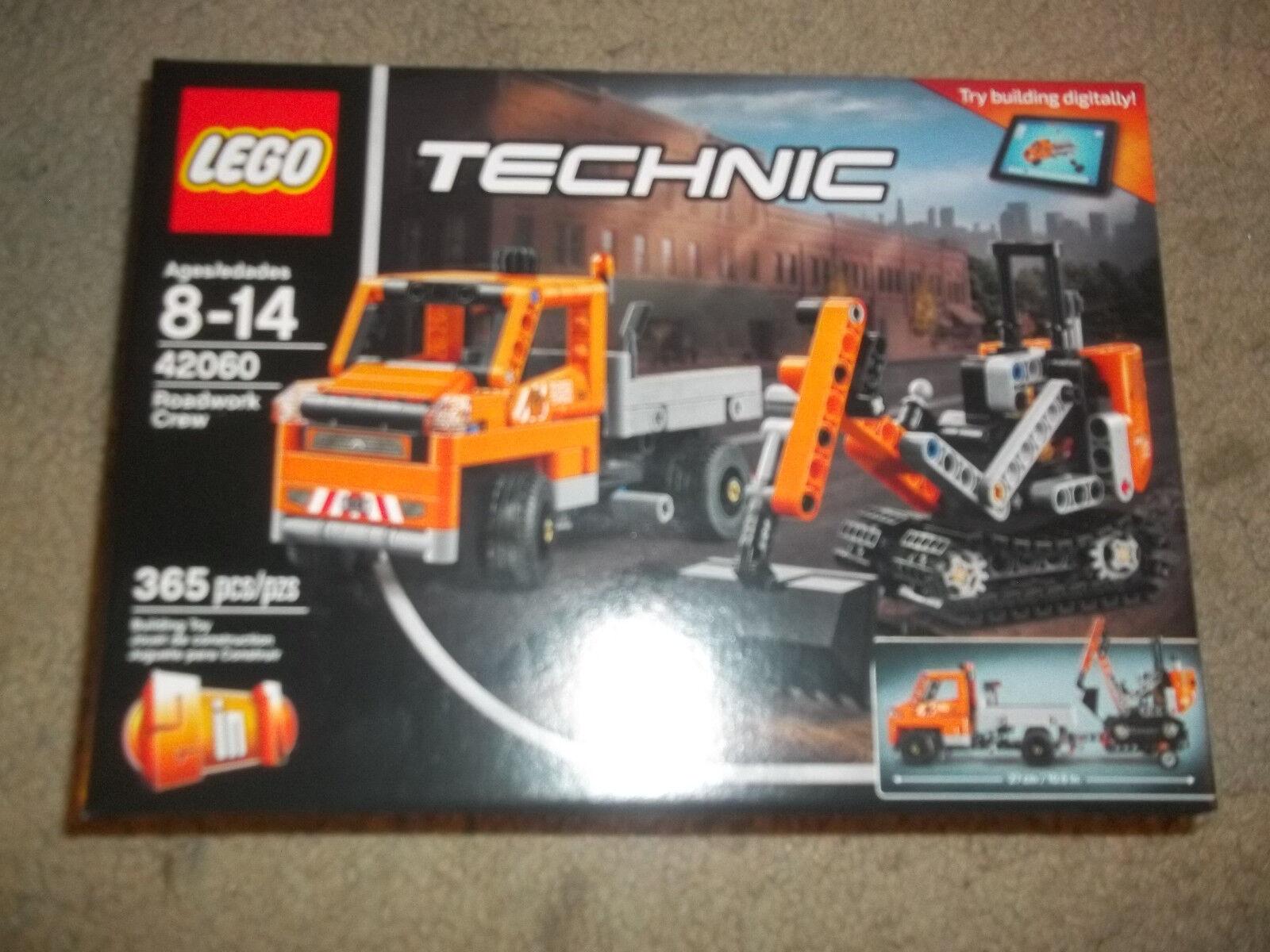 Lego 42060 Technic Roadwork Crew New sealed
