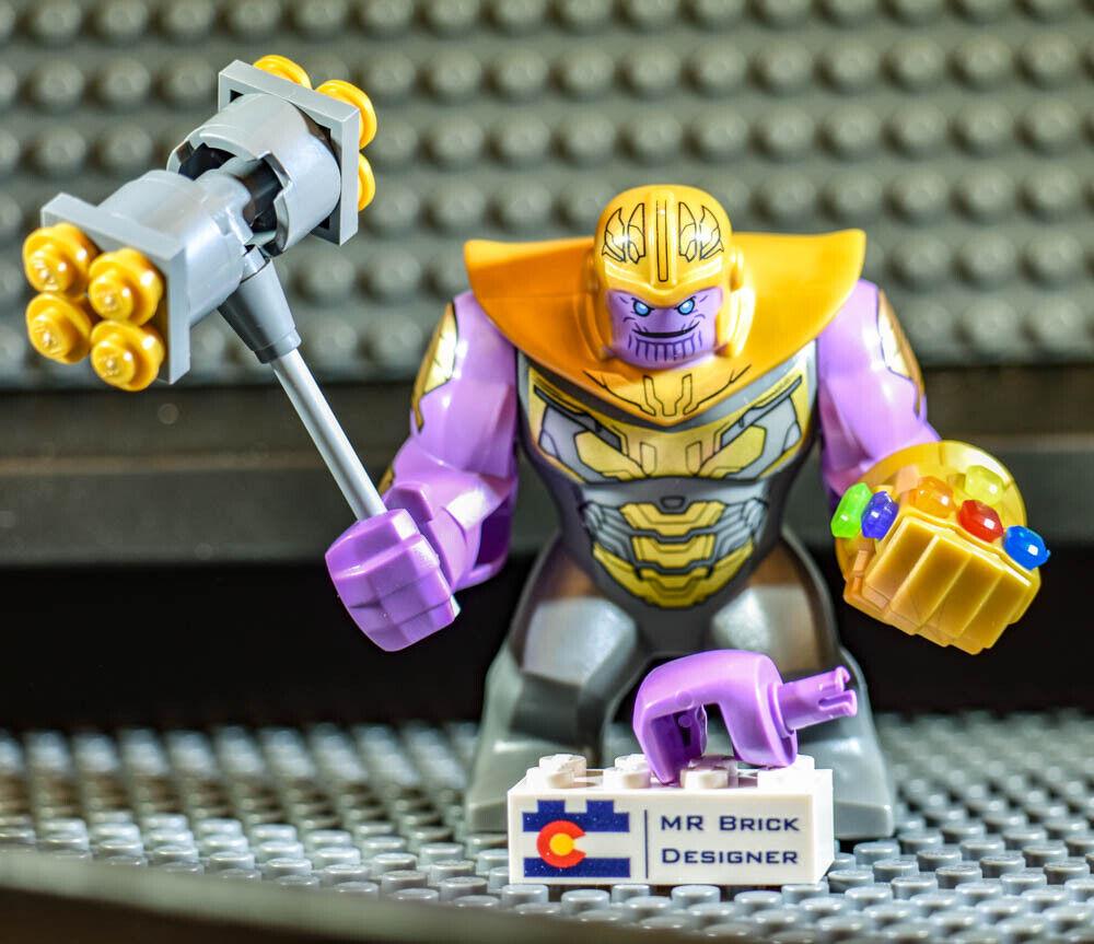 AUTHENTIC nuovo LEGO THANOS Avengers Endgioco  cifra Minicifra fig Marvel 76131  vendita di offerte