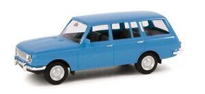 Herpa-024150-004-Wartburg-353-Tourist-Light-Blue-Model-1-87-H0