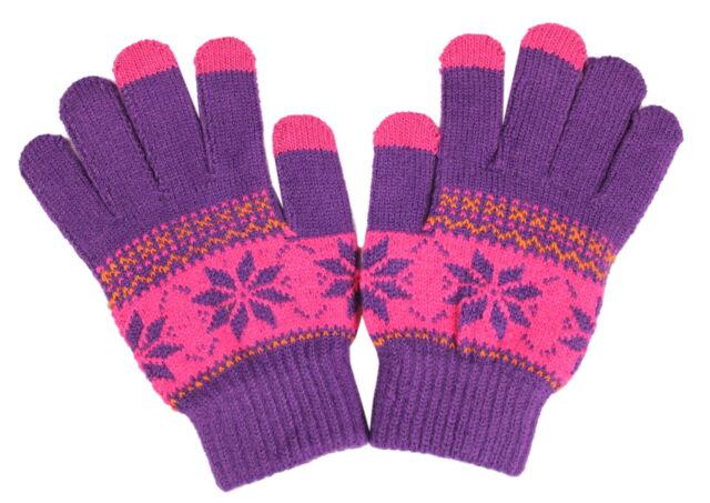 Smartphone Handschuhe für Damen Warme Fingerhandschuhe Touchscreen