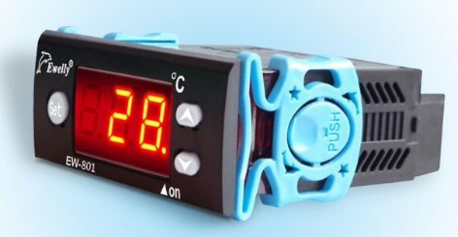 Temperature control of the solar differential thermostat thermostat thermostat heater with two probes 0f1897