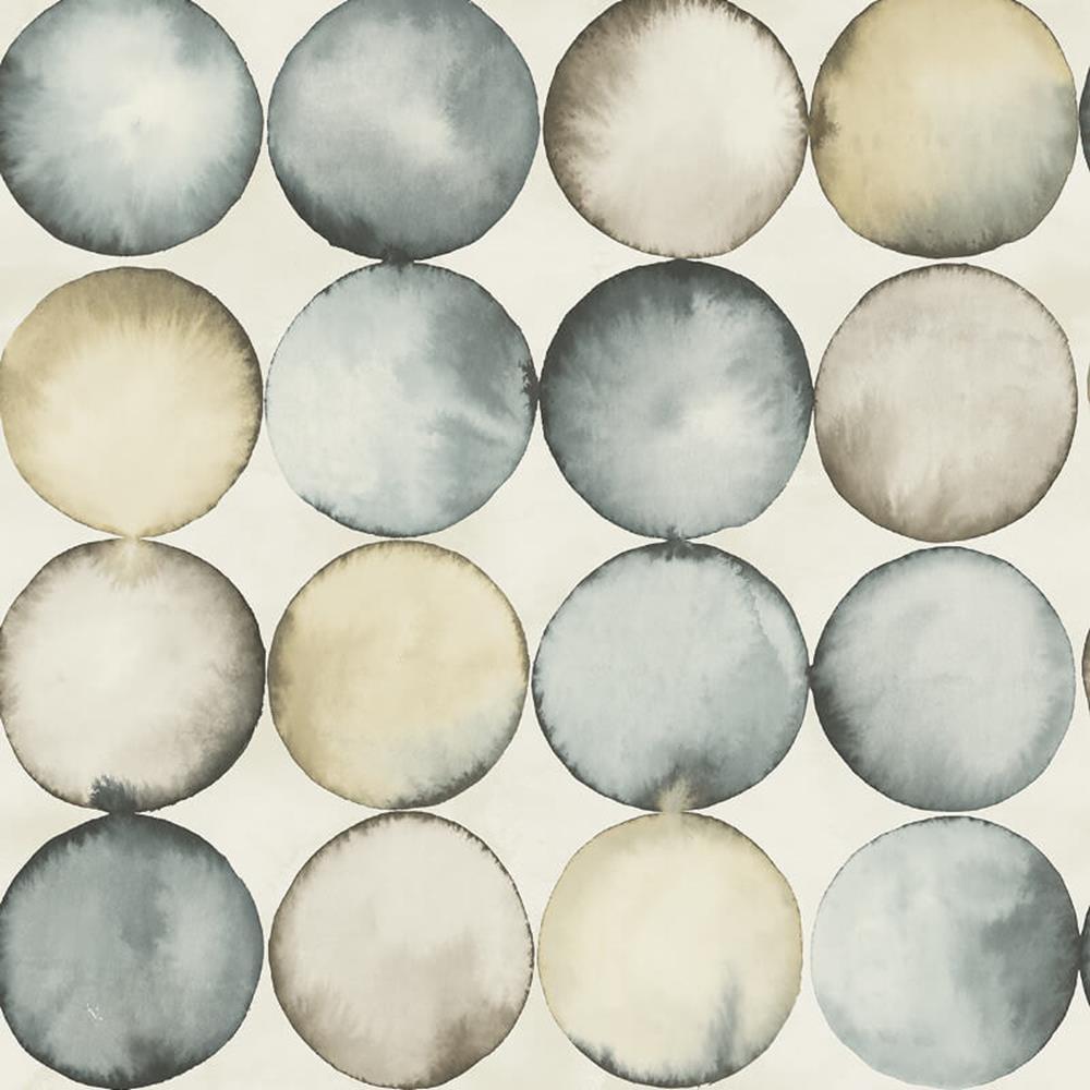 UK20608 - Peartree Bubble Stahl Blau Tapete