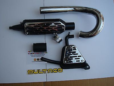 BULTACO MATADOR EXHAUST FULL KIT BULTACO MATADOR MK3 MODEL 26 MATADOR EXHAUST