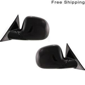 LH /& RH Side Set Of 2 Manual Folding Non-Heated Mirror Fits C1500 C2500 C3500