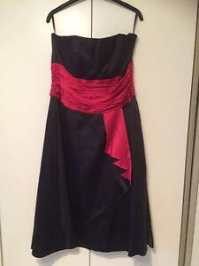 MONSOON-BLACK-BUSTIER-STYLE-DRESS-SIZE-14