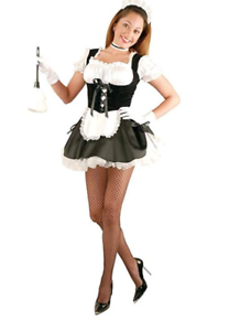 a5618cd9a Image is loading New-Fi-Fi-the-French-Maid-Costume-by-