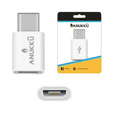 Adattatore Adapter Anukku Micro USB 2.0 Femmina a Type C 3.1 Maschio Data