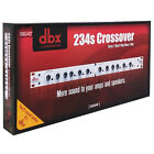 DBX 234S Stereo 2/3 Way, Mono 4-Way Crossover for amps & speakers 691991401282