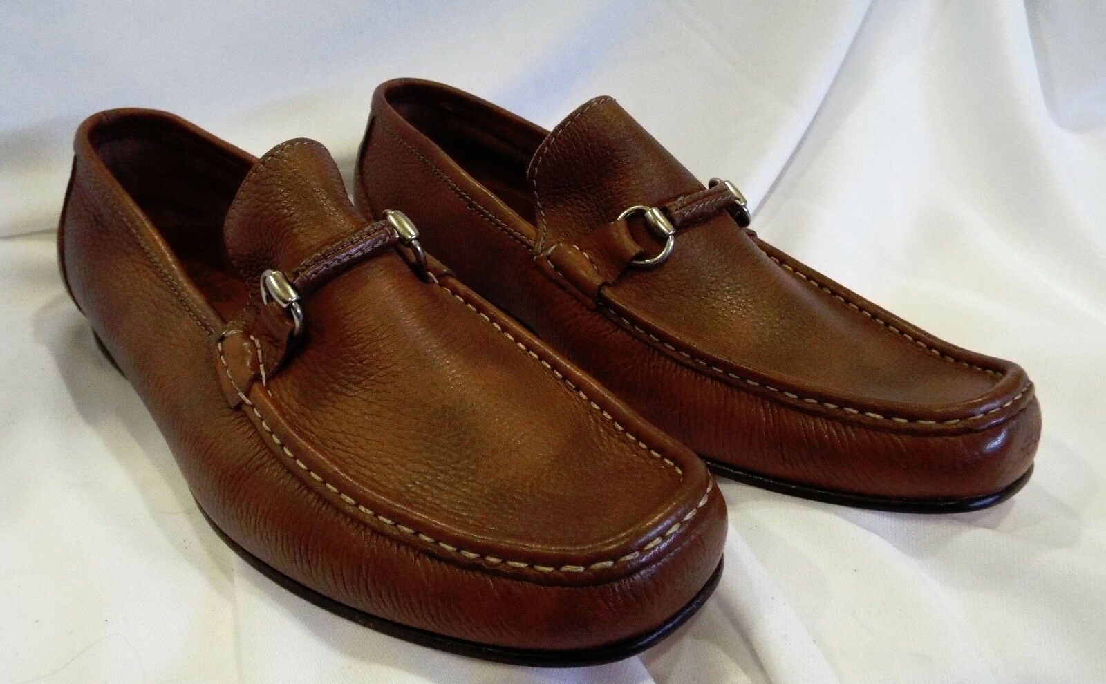 Delicious 'Sandrino Leather Bit Loafer by SANDRO MOSCOLONI Made in Spain Sz. 13M