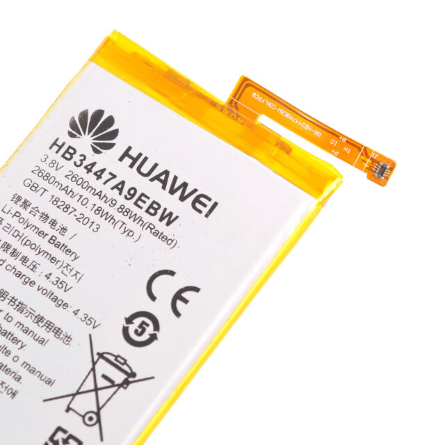 For Huawei P8 Battery Replacement Genuine HB3447A9EBW 2600mAh Original