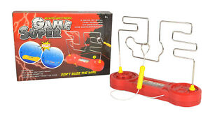 Don-039-t-Buzz-The-Wire-Game-Steady-Hand-Skill-Kids-Buzzer-Toy-amp-Family-Game-ZH455