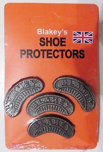 Blakey-039-s-Segs-Toe-amp-Heel-Shoe-Boot-Footwear-Original-Protectors-No-8
