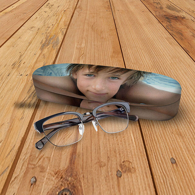 Personalised Hard Photo Glasses Case Customise With Your Own Photograph, Design