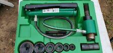 Greenlee Tool 7306sb 12 2 Slugbuster Hydraulic Knockout 767 Pump 746 Set
