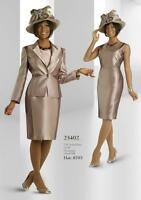 Chancelle Dress Suit /size 20/lined/retail$299/knee Length/shantung Fabric/