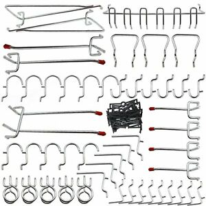 42b80a0ede78 Image is loading Pegboard-Hook-Assortment-51-Piece-by-Calax