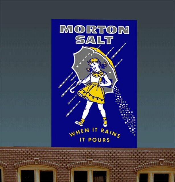 Miller's Morton Salt When it Rains it Pours Animated Neon Sign Miller Engineerin