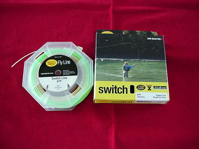 RIO Switch Fly Line 56F GREAT nuovo