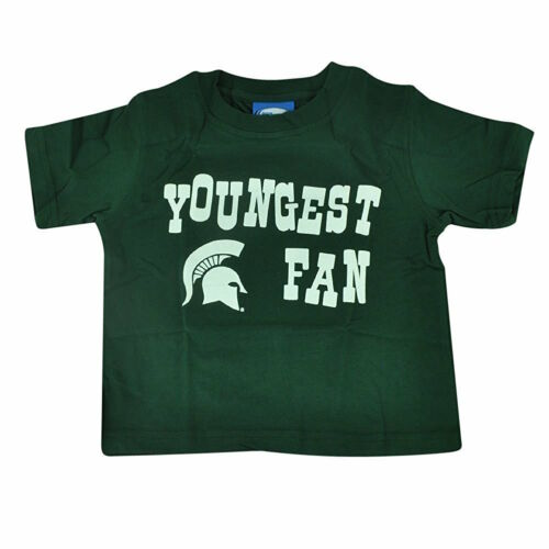 Michigan State Spartans Toddler T-Shirt Youngest Fan Tee Choose Kids Size