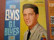 LSP 2256 Elvis Presley - GI Blues LP Original Living Stereo NM