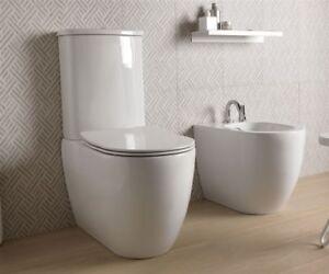 Gsg like vaso monoblocco bidet e coprivaso sanitari bagno moderno
