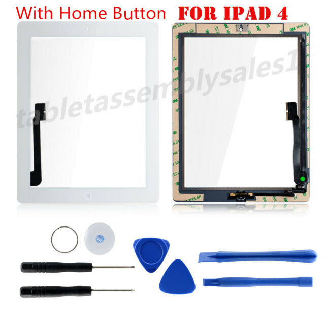 Color Replacement Glass Touch Screen Digitizer for Apple iPad 3 3rd /& 4 4th Gen