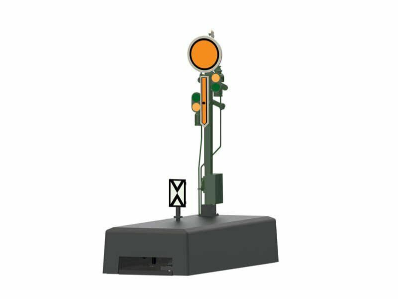 Märklin 70381 forma-vorsignal stellbare adicional alas & stellbare disco h0