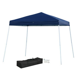 Pop Up Canopy Tent >> Details About 10x10 Pop Up Canopy Tent Outdoor Event Instant Shade Shelter Commercial Gazebo
