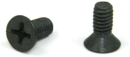 Qty 100 Black Oxide Stainless Phillips Flat Head Machine Screw  4-40 x 3//16
