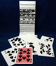 Deformation Cards, Bicycle rot, sehr schwerer Trick