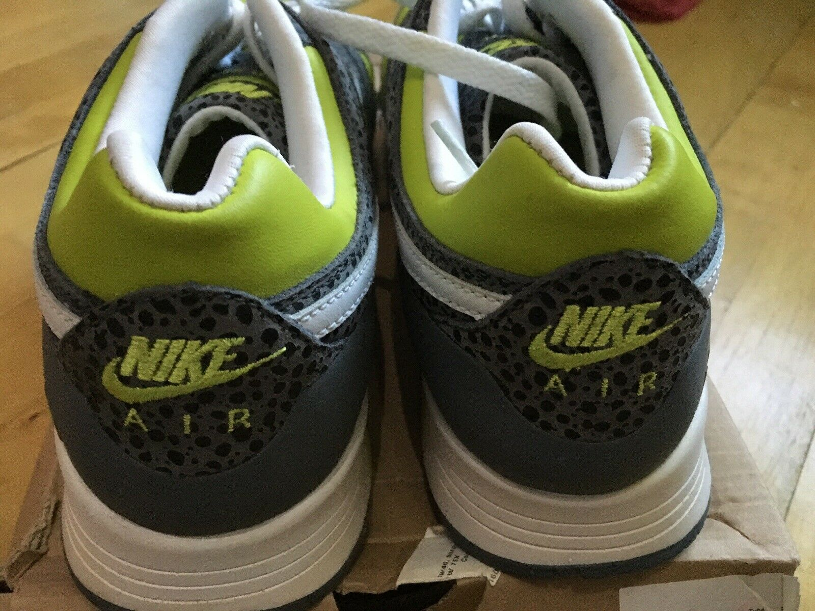 Nike Stab 2007 verde blancooo Air Flint Reino Unido 8 8 8 7f75af