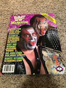 WWF Magazine March 1989 Demolition Cover Big John Stuff Martel Elizabeth