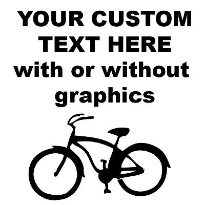 Custom Vinyl graphic or lettering