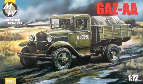 Military Wheels 1//72 GAZ-AA # 7233
