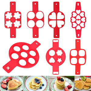 Nonstick-Silicone-Omelette-Pancake-Egg-Ring-Cake-Maker-Kitchen-Mold-Tools-Mould
