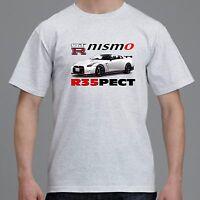Nissan Gtr Nismo R35 Mens Womens T-shirt Tee Grey