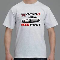 Nissan Gtr Nismo R35 Mens Womens T-shirt Tee Grey